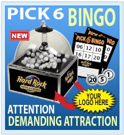 Prize Bingo | Trade Show Games