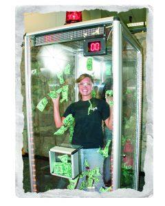 Trade Show Cash Cube Visitor - Winning Cash